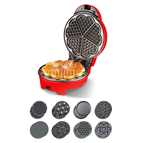 Fantastic Prices! Waffle Maker, Fully Automatic Double-Sided Heating Suspension Baking Tray with Aut...