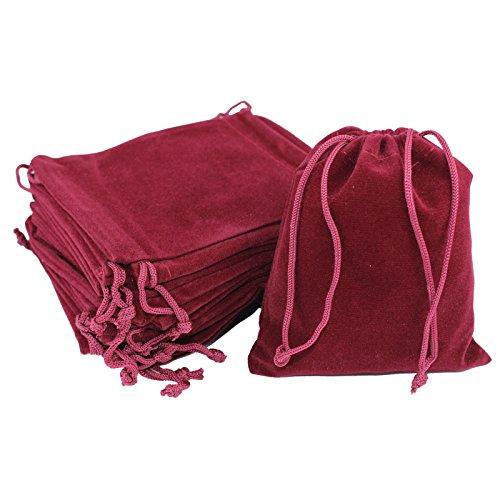 rose Sachet de 50 9 x 12 cm en tissu opaque kleenes traumhandel lot /® dimensions :  env 9x12 cm