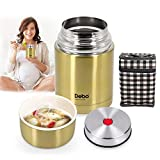 Debo Thermos Food Jar Thermos for Hot Food Insulated Food Jar 18/8 Stainless Steel Bpa-Free 26 Ounce...