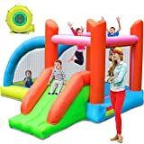 Stoog Kids Bounce House with Blower, Inflatable Bouncers for Outdoor, Jumping Castle with Slide Fun Ideal Gifts for Kids Children Home