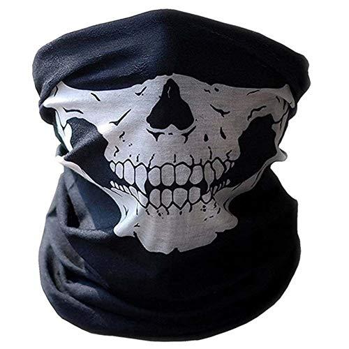 CRYX Multifunctionele doek | Tubulaire doek | Storm masker | Bandana | Skull neckerchief skelet masker voor motorfiets ski paintball gamer carnaval kostuum schedel masker