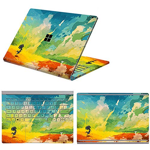 Full Body Cover Stickers for Microsoft Surface Book 3 Book 1/2 13.5 15 Inch Waterproof Decorative Laptop Protector Shell Skin-Option 7-Book 2 15 i7