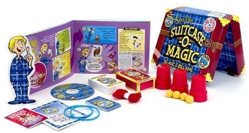Mac King's Magic in a Minute Super-Duper SUITCASE -O- MAGIC by Mac & Bill King