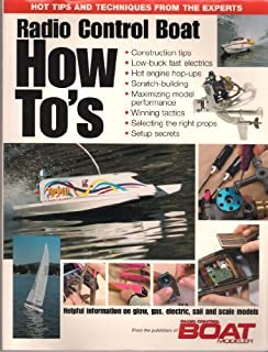 Radio Control Boat How-To's by Yarrish, Gerry (1993) Paperback