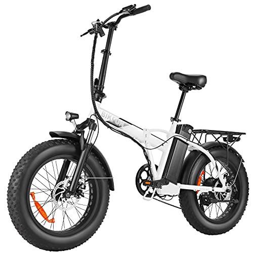 BIKFUN Bicicleta Electrica Plegable 48V 12.5Ah,...