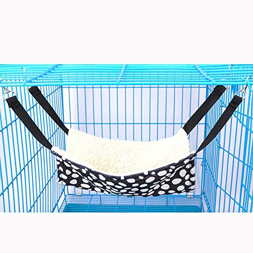 Pet Cage Hammock,Easy to Attach to a Cage Cat Hammock,Ferret,Rat,Rabbit,Small Dogs or Other Pet
