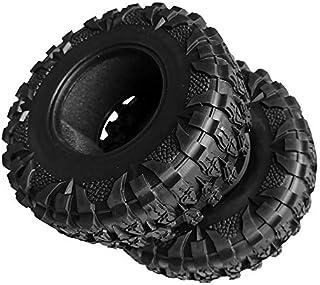 "2pcs 1.9"" Rc Crawler Tires Tyres for Axial Capra Traxxas TRX4 SCX10 D90 CC01 TF2 Jeep Tamiya RC4WD (2.2"" Tires)"