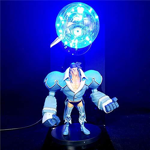 Luz LED Anime One Piece 3D Figura Luz de noche Luffy Zoro Hancock Franky Luces de neón coloridas Lámpara de mesa creativa Luz de noche decorativa, juguetes de modelos coleccionables para niños Estatua