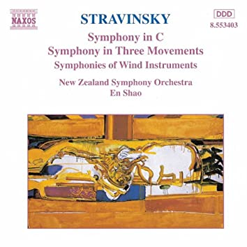 STRAVINSKY: Symphony in C / Symphony in Three Movements