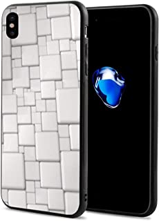 Top White 3D Background iPhone X Case Black One Size WSAAXDM