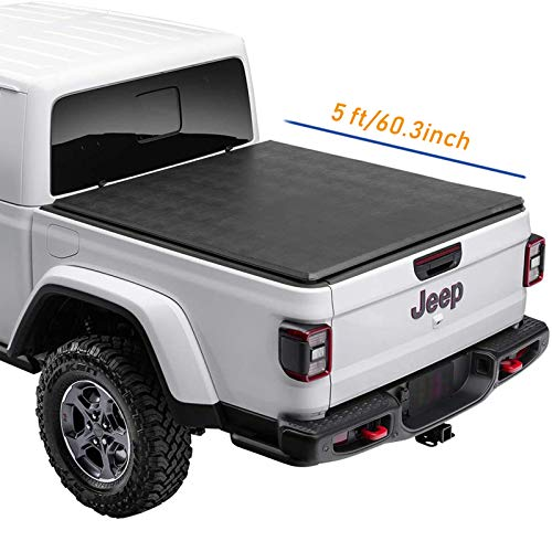 Lyon cover 5'/60.3 Soft Roll Up Truck Bed Tonneau Cover For 2020-2021...