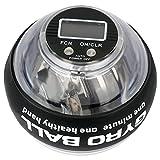 Bola Giroscopios ejercicio con contador LCD, Giroscopio de ejercicio de mano de precisión de 280...