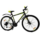 KROSS Men's Viper 28T Bicycle Front Disc Brake 21Speed Gear Mountain Bike, Adult for Men 15+Years