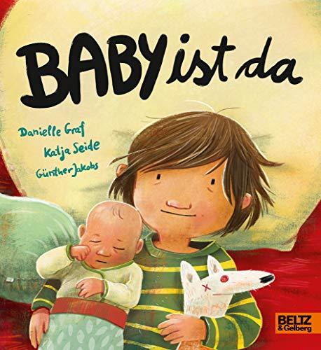 Buchseite und Rezensionen zu 'Baby ist da: Vierfarbiges Pappbilderbuch' von Danielle Graf