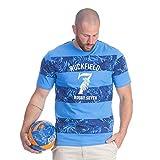 Ruckfield - T-Shirt Rugby Seven Bleu - Bleu