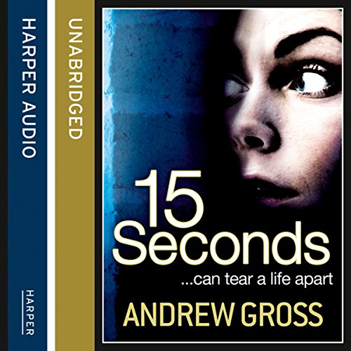 15 Seconds audiobook cover art