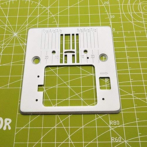 YICBOR - Placa de aguja #416472401/Q60D para Singer 4411 Heavy Duty, 4423 Heavy Duty, 4432