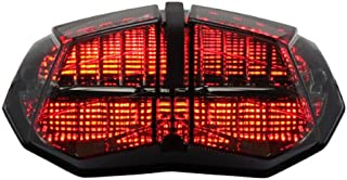 Integrated Sequential LED Tail Lights Smoke Lens for 2009-2015 Ducati Streetfighter