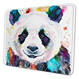 MQBeauty Panda Watercolor Painting Thick Keyboard Mouse Mat Non-Slip Nature Rubber Rectangle Mouse Pad Home Office Computer Gaming Great Gift Idea 10 x 12 inch