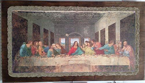"Ars Martos - ""Ultima Cena' Leonardo da Vinci. Riproduzione d'Arte in Affesco su Intonaco. Varie misure disponibili"