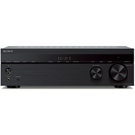 Sony STRDH590 5.2-ch Surround Sound Home Theater Receiver: 4K HDR AV Receiver with Bluetooth,Black