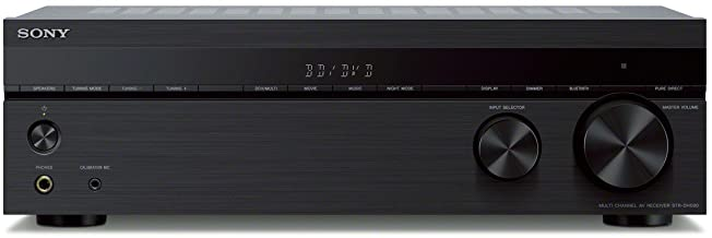 Sony STRDH590 5.2 Channel Surround Sound Home Theater Receiver: 4K HDR AV Receiver with Bluetooth,Black