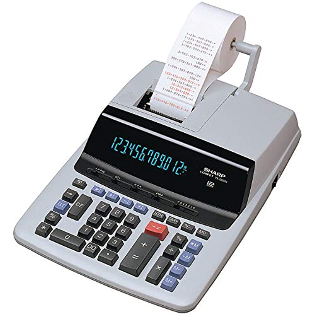 Sharp(R) VX-2652H Commercial-Use Calculator