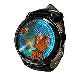 Anime Dragon Ball ZLED Reloj de Pantalla táctil Impermeable Luminoso Reloj Digital Unisex Cosplay Regalo Nuevo Reloj niños Regalo-B