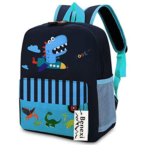 Mochila infantes Mochila Para niños , Mochilas pequeñas Mochilas escolares de dinosaurios de animales Bonita bolsa de bebé primaria Guardería Preescolar para niños de 2 a 5 años Niñas, Verde