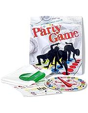 HONGECB Gezelschapsspel twister, Vloerspel met Speelkleed, Draaispel voor Kinderen & Volwassenen, Teamspel, Familiespel, Gezelschapsspel, Leuk Spel voor Kinderverjaardagen, 2-4 personen
