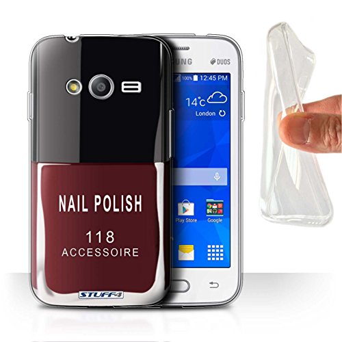 Stuff4 Var voor Samsung Galaxy nagellak/make-up Samsung Galaxy Trend Neo/G313 Rood