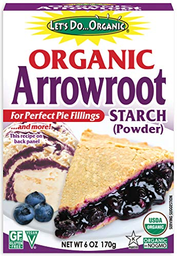 Organic Arrowroot Starch Powder