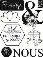 11x16シャンデリア透明クリアシリコンスタンプシールforDIYスクラップブッキングフォトアルバム装飾クリアスタンプ