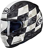 ARAI - Casco de moto integral Profile V Patch - Blanco/negro (L)