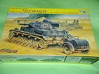 1 35 ドラゴン 6402 W.W.Ⅱ 独軍 Ⅳ号戦車E型 潜水戦車