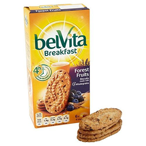 belVita Forest Fruit Breakfast Biscuit 6 x 50g