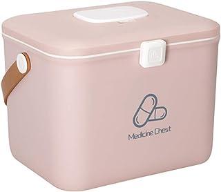 Medicine Storage Box, First Aid Kit Handle Medical Box Storage Box Medicine Chest, Organizer First Aid Emergency Sundries ...