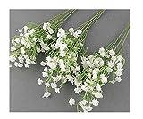 TaoNaisi - Lote de 10 flores artificiales artificiales para