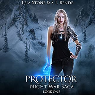 Protector     Night War Saga, Book 1              By:                                                                                                                                 Leia Stone,                                                                                        S.T. Bende                               Narrated by:                                                                                                                                 Vanessa Moyen                      Length: 7 hrs and 5 mins     33 ratings     Overall 4.6