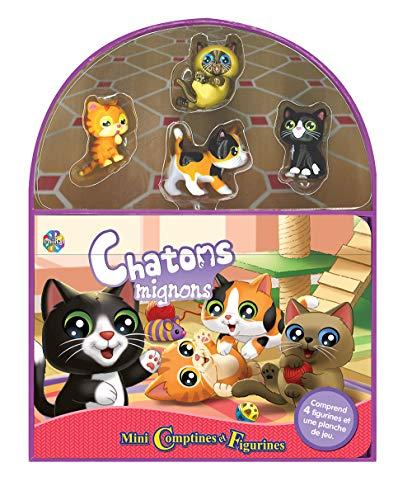 Phidal Chatons Mignons Mini Comptines et Figurines, Français, Multicolore
