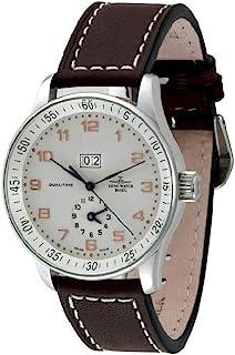 Zeno Watch Basel - Reloj para Hombre Analógico Automático con Brazalete de Cuero P561-f2