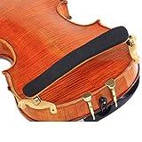 ZHJC Resto del Hombro para Violín Hombrera for violín 1/41/23/41/8 Adulto Soporte 4/4 Violín Hombro Regalo para los Amantes del violín (Color : Marrón, Size : Universal)