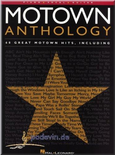 Motown Anthology - Noten Songbook [Musiknoten]