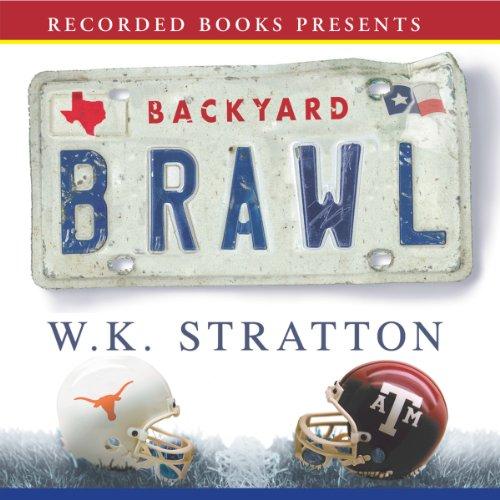 Backyard Brawl audiobook cover art