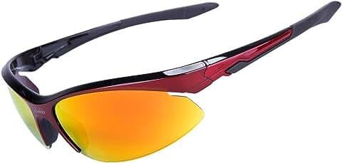 LVXING1 Shieldo Polarized Sports Sunglasses