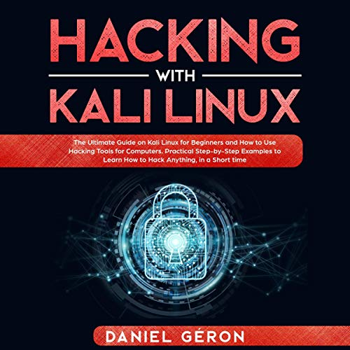 『Hacking with Kali Linux』のカバーアート