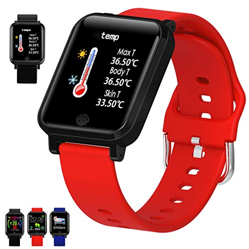FromPRO SE 6 1.57Inch Smartwatch Men Full Touch Multi-Sport Mode with Smart Watch Women Heart Rate Monitor for iOS Android