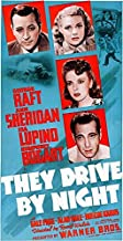 They Drive By Night - 1940 - Movie Poster Magnet