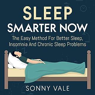 Sleep Smarter Now audiobook cover art