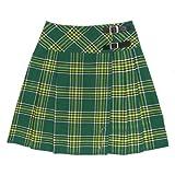 Tartanista 20 inch Irish Tartan Pleated Kilt Skirt - Size US 6